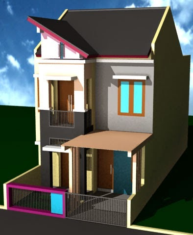 gambar rumah minimalis 1 lantai ukuran 7x12