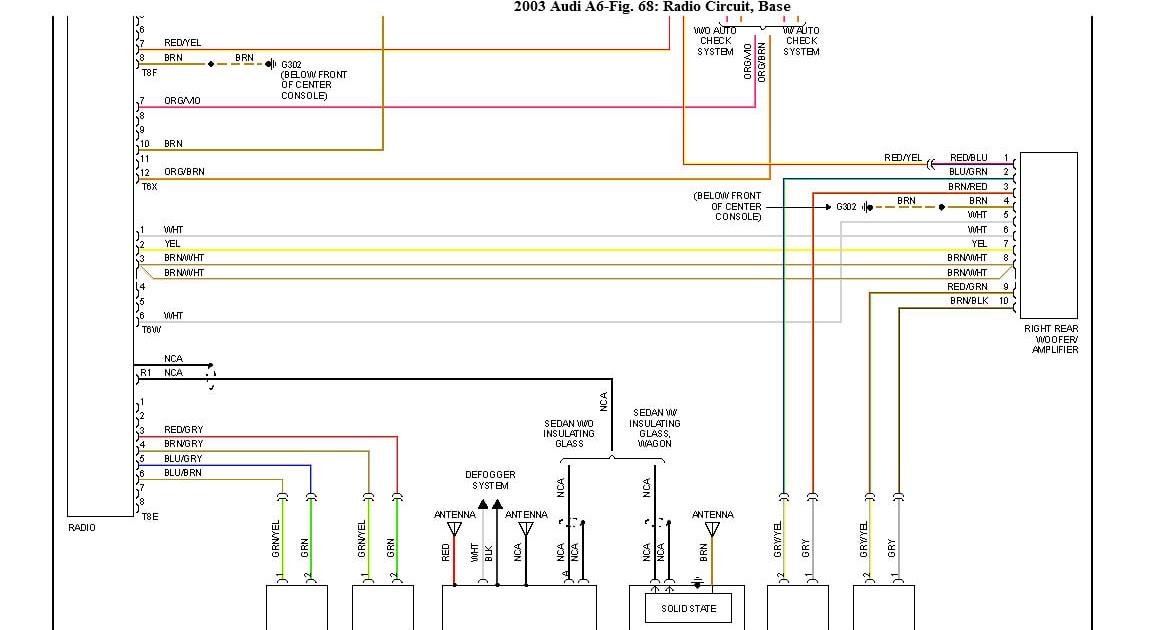 32 Audi A6 Wiring Diagram