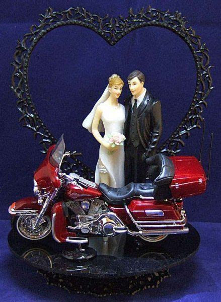 Harley Davidson Wedding Cake Topper 10   For him on HIS