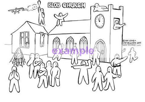 Blob Church