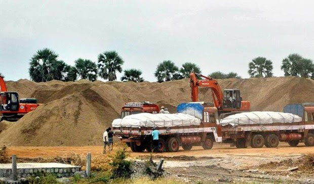 Image result for sand quarrying trichy