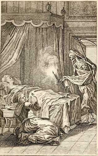 Femina, Maritus et Mors