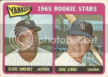 #226 Yankees Rookie Stars: Elvio Jimenez and Jake Gibbs
