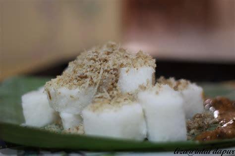 intai dapur nasi impit sambal nyior