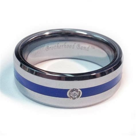 1000  ideas about Thin Blue Line Ring on Pinterest