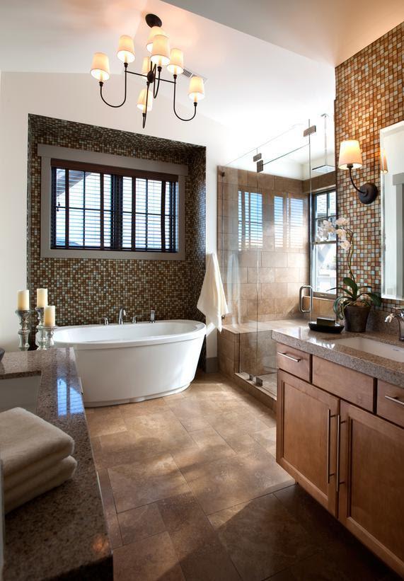 25 Modern Luxury Master Bathroom Design Ideas