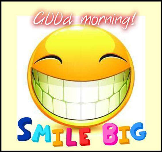 Good Morning Smile Big Pictures Photos And Images For Facebook