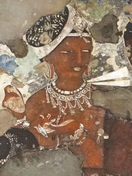 Mural,  Ajanta Caves