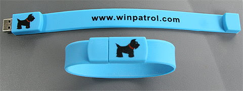 WinPatrol flash wristband