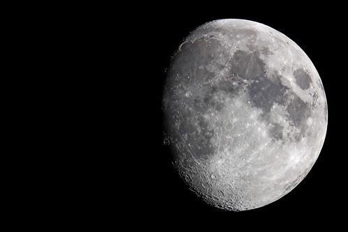 The moon: 2007-02-27