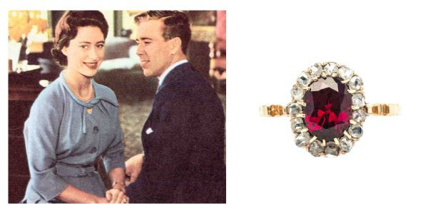 Ruby Princess Margaret Wedding Ring