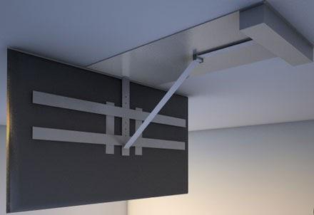 Deckenhalterung tv klappbar selber bauen