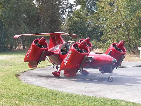 Moller M400 Skycar Απογείωση