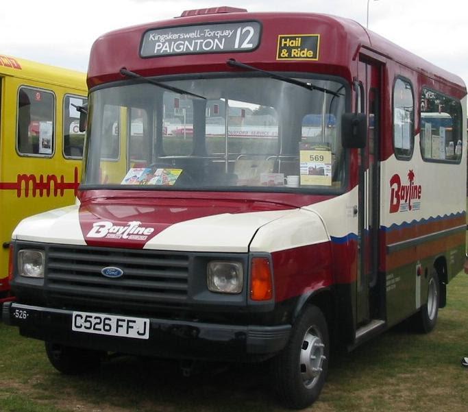 1970 Ford Transit minibus