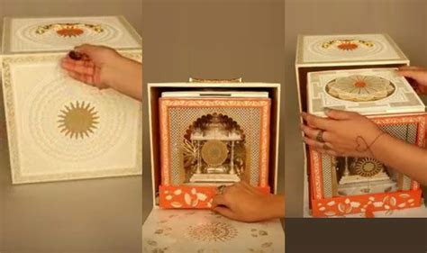 Akash Ambani And Shloka Mehta Wedding Invitation Card