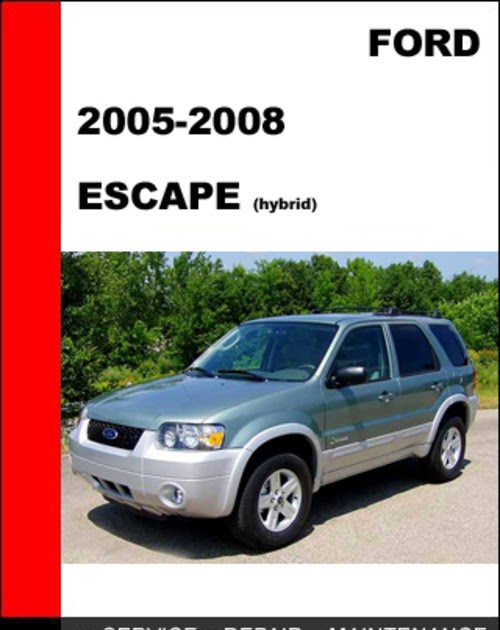 encontr manual owners manual for 2008 ford escape hybrid. Black Bedroom Furniture Sets. Home Design Ideas