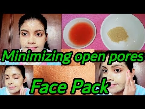 Multani Mitti & Tomato Face Pack For Open Pores| Skin Whitening Face