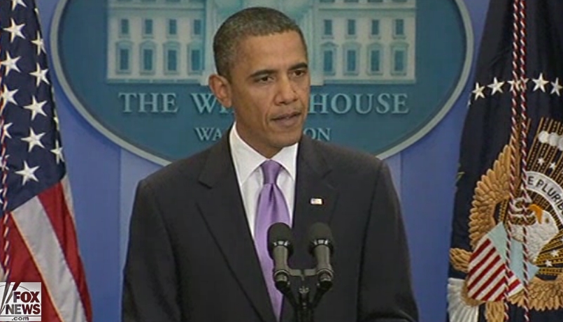 President Obama makes a statement regarding a foiled terror plot against synagogues in Chicago