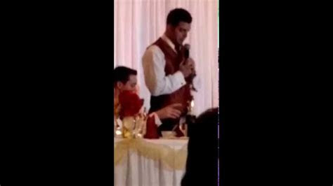 Best Man Wedding Speech   Younger Brother   Funny   YouTube