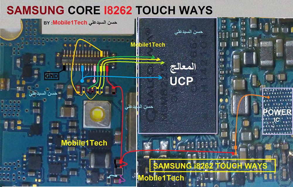Samsung Galaxy Core Touch screen Not Working Problem Solution Jumper Ways