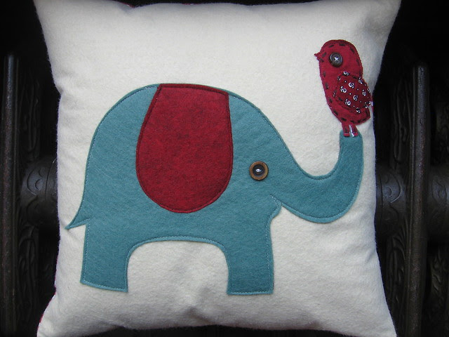 elephant.bird.pillow