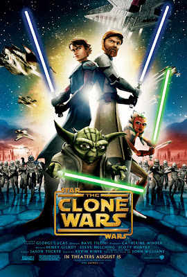 Star Wars The Clone Wars Official Poster