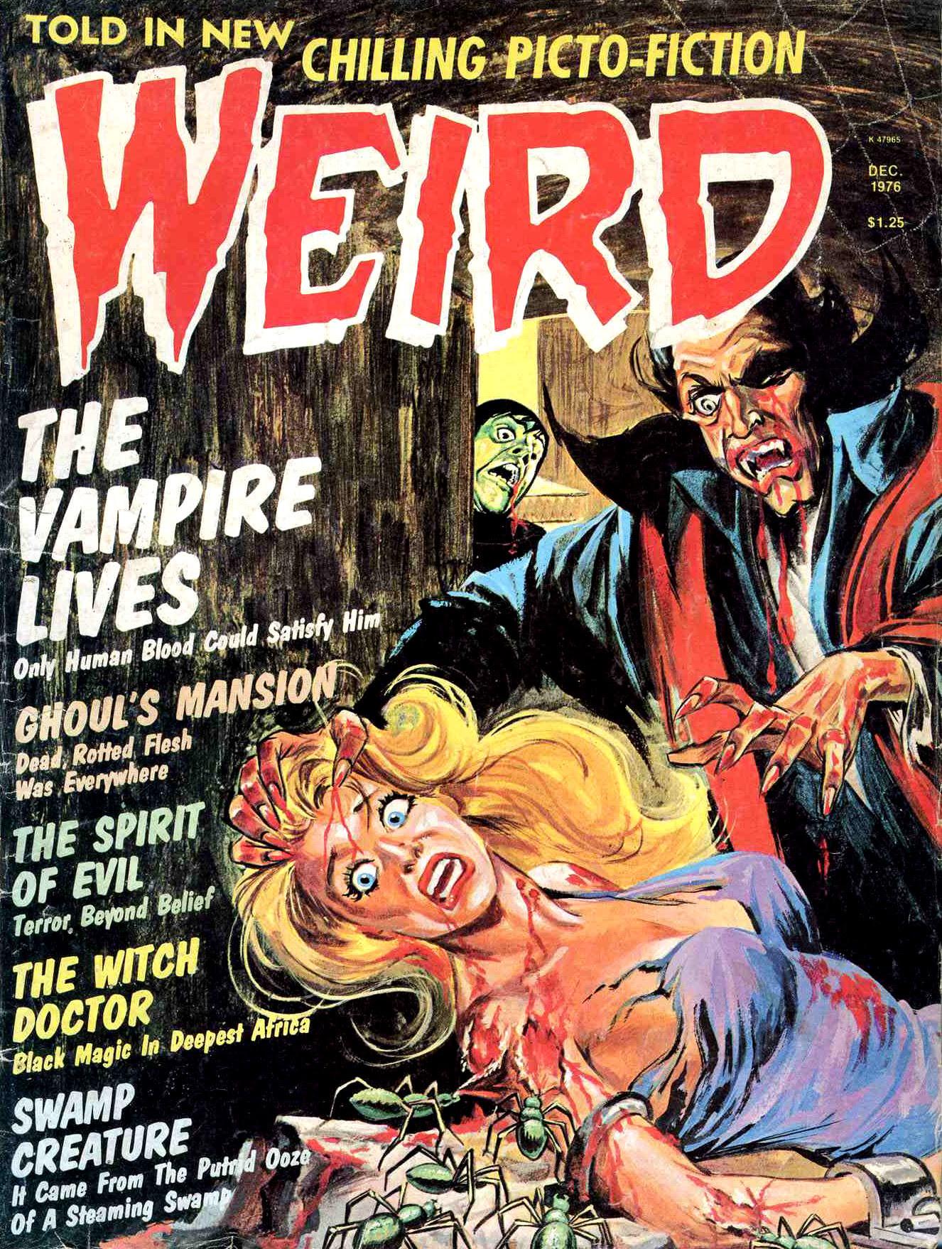 Weird Vol. 09 #4 (Eerie Publications, 1974)