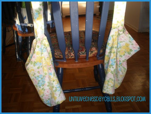 Repurposed Bed Sheets turned Market Bags