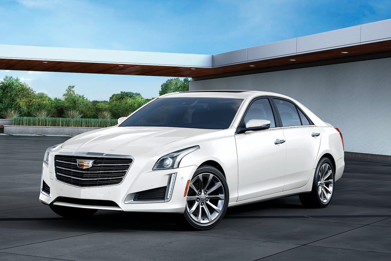 """Cadillac Announces Japan-Only """"White Edition"""" for 2017 ATS ..."""