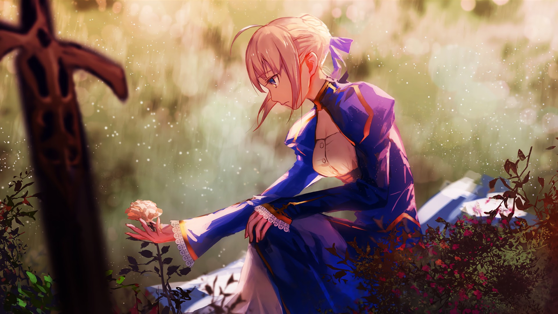 1920x1080 Px Anime Girls Fate Fate Series Saber Stay Night High
