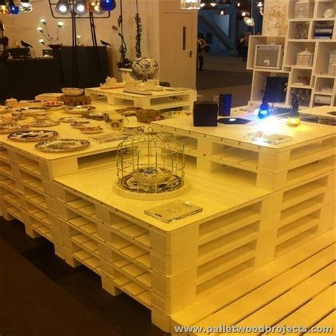 Pallet Kitchen Islands / Buffet Tables   Pallet Wood Projects