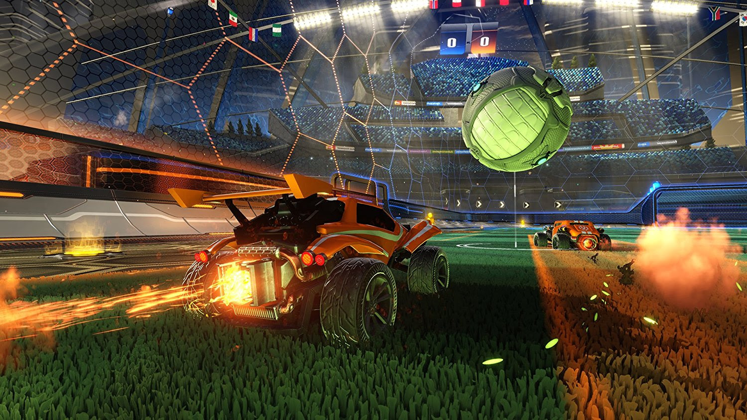 Rocket League 2nd Anniversary' birthday' update available today screenshot