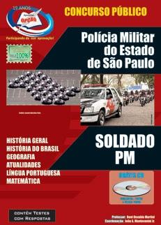 Polícia Militar - SP-SOLDADO PM - MASCULINO E FEMININO