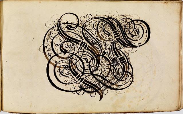Kalligraphische Schriftvorlagen by Johann Hering d
