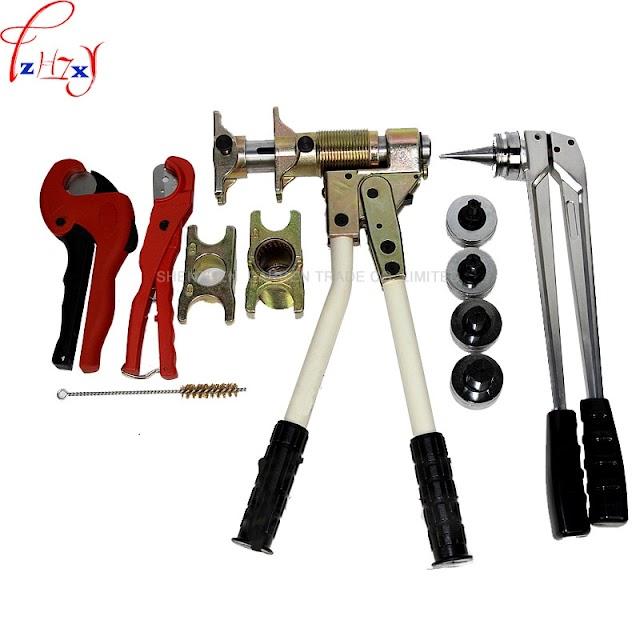 Kopen Goedkoop 1 Set Pex Fitting Tool PEX 1632 Bereik 16 32mm Gebruikt Voor REHAU Fittings Goed Ontvangen Rehau Sanitair Prijs
