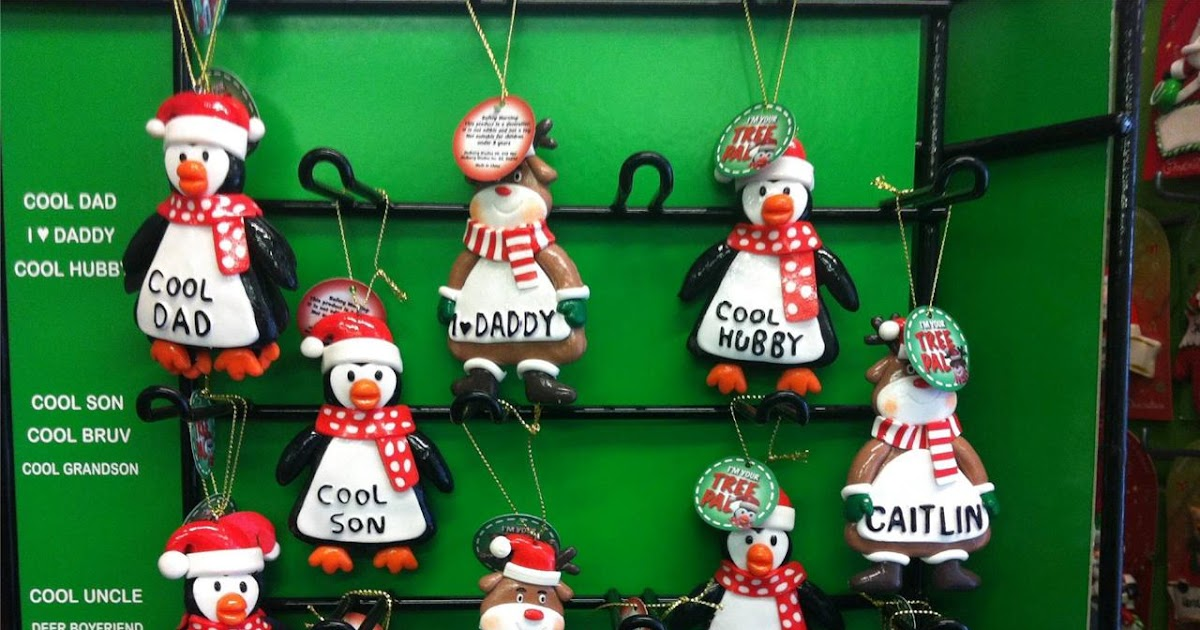 Christmas decorations names giveaway party