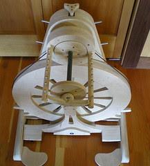 SpinOlution Mach 1 wheel, bird's eye view