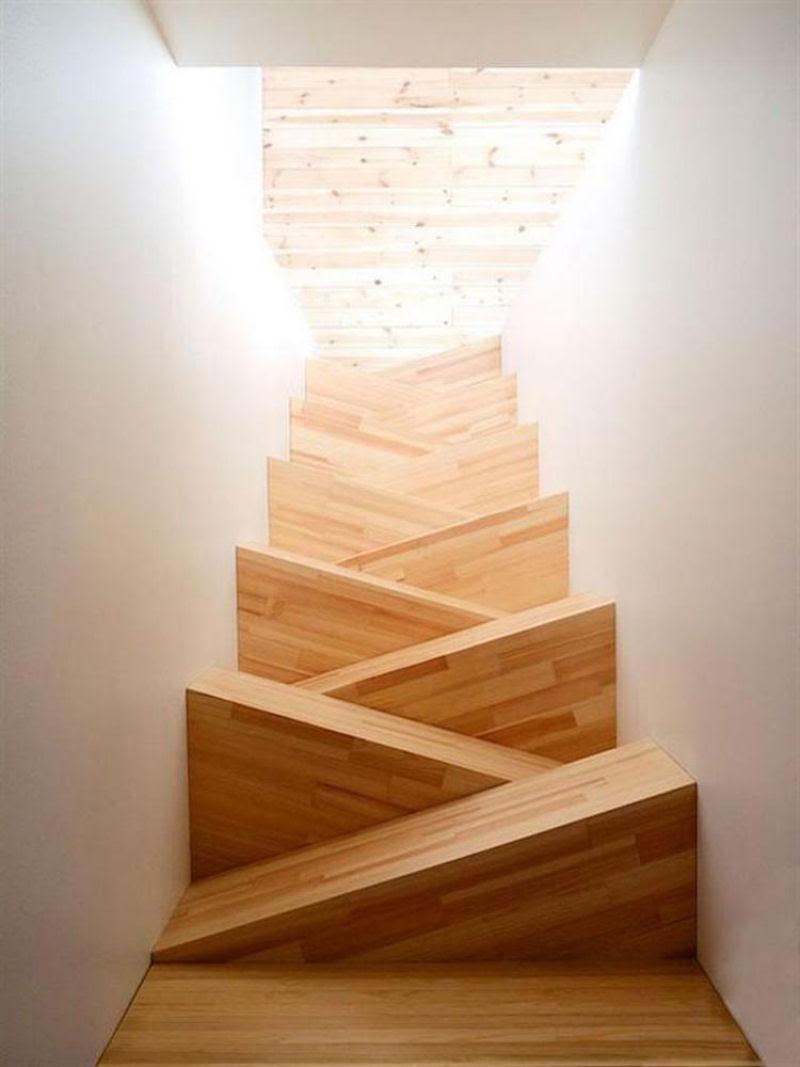 Escadas incrivelmente projetadas que estão um degrau acima das demais 10