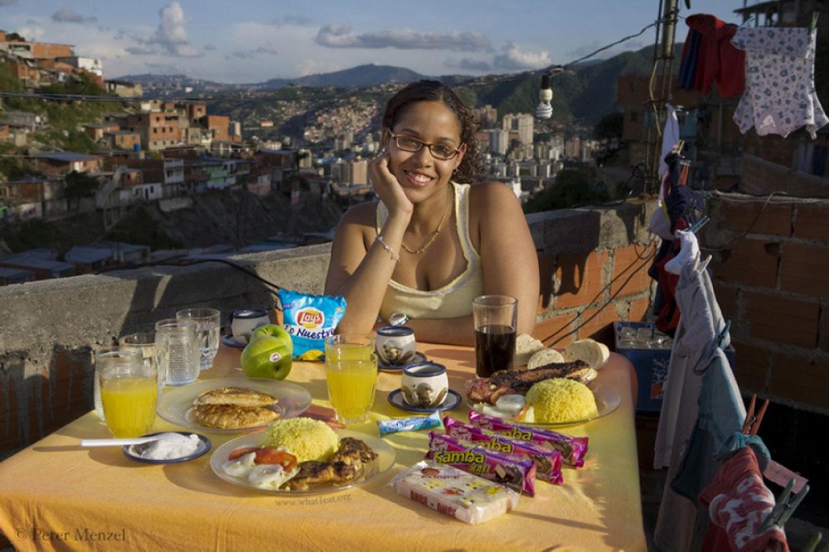 O que as pessoas comum comem nos diferentes países do mundo? 08