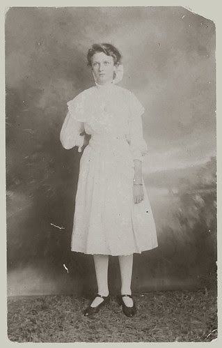 RPPC portrait of a woman