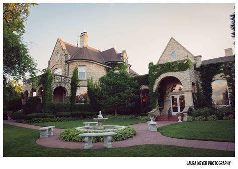 Patrick Haley Mansion in Joliet Wedding :: Chelsea   Mark