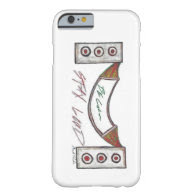 Be Calm Stay Loud i phone case Barely There iPhone 6 Case
