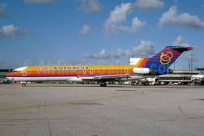Air Jamaica Boeing 727-2J0 6Y-JMN (msn 21106) MIA (Bruce Drum). Image: 102895.