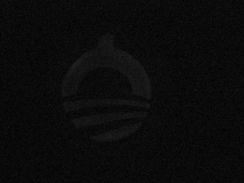 Dim Barack-o-lantern