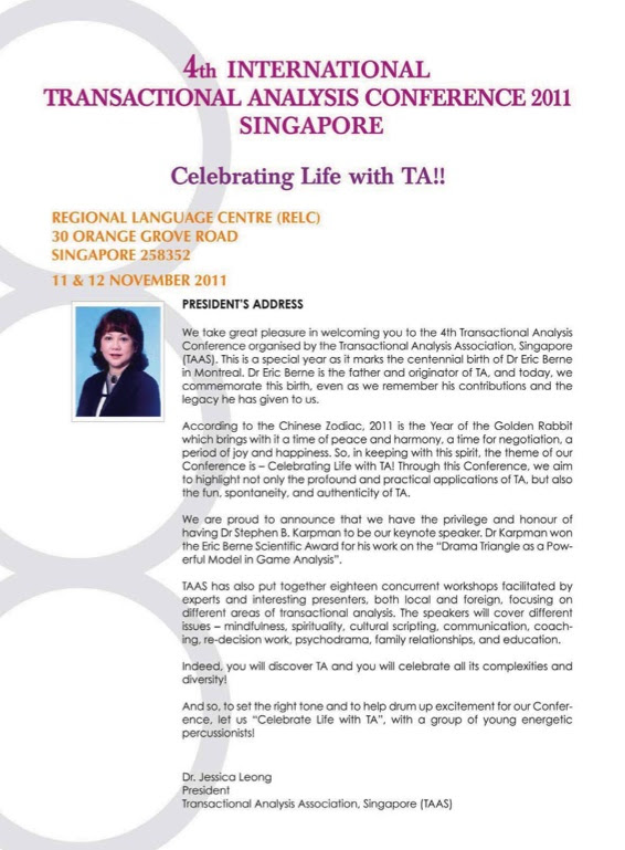 Singapore conference 2
