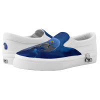 Parrots ZIPZ Slip On Sneakers, Printed Shoes