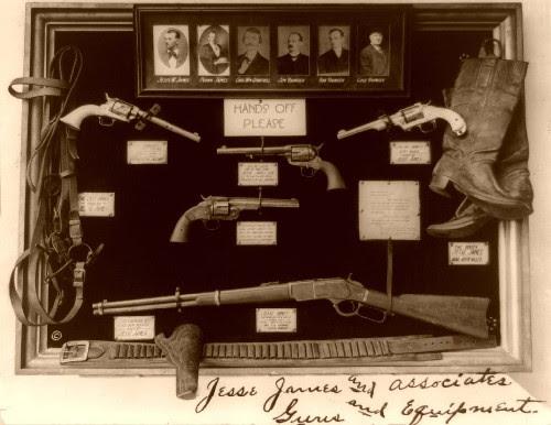 Armas da da gangue James-Younger