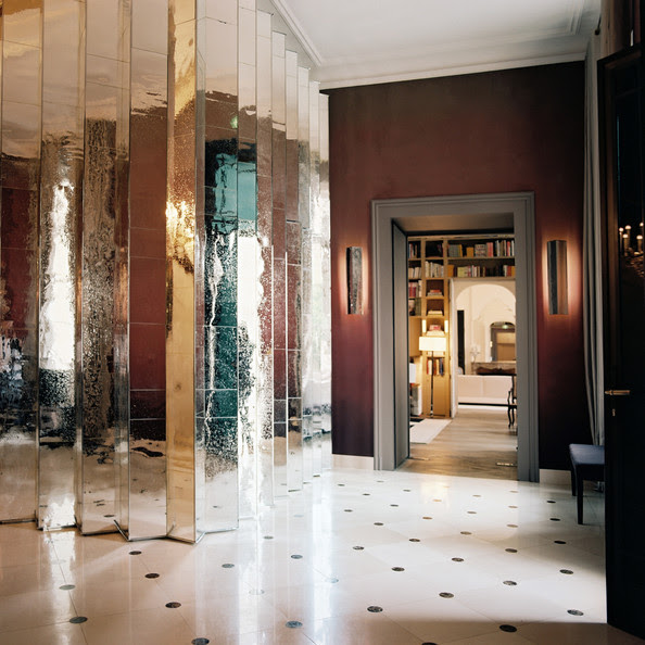 Mirrored Wall Photos, Design, Ideas, Remodel, and Decor - Lonny