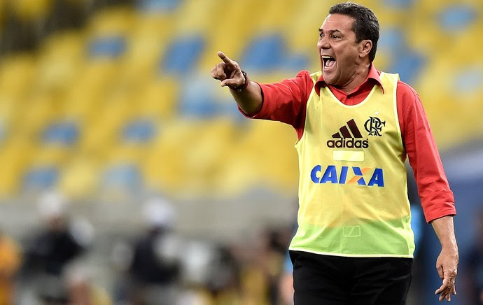 Vanderlei Luxemburgo, Flamengo X Grêmo (Foto: Getty Images)