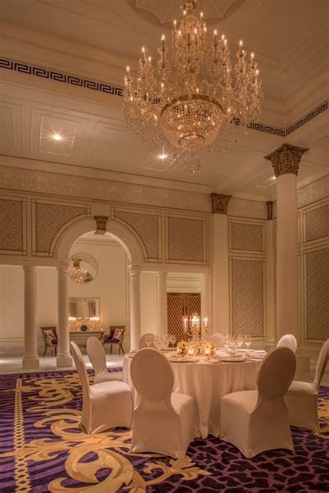 Elegant wedding setup at Palazzo Versace Dubai #weddings #